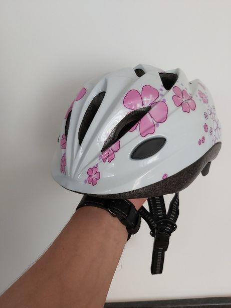 Kask rowerowy dla dziewczynki KAYOBA S 48-52
