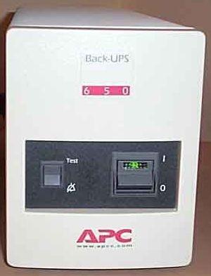 ибп APC Back-UPS Pro 650VA 410W BP650MI нет аккумуляторной батареи