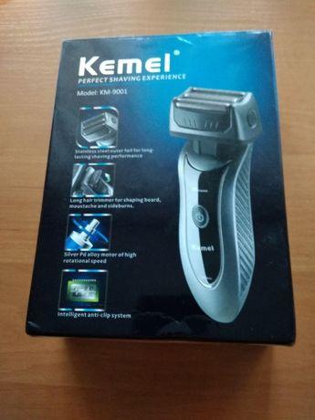 Kemei KM-9001 (RSCW-9001), аккумуляторная сеточная электробритва