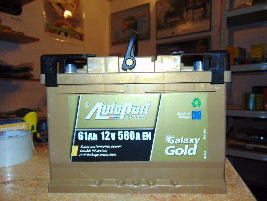 Akumulator Autopart Galaxy Gold 61Ah 580A P+ wymiana Kraków Kraków - image 1