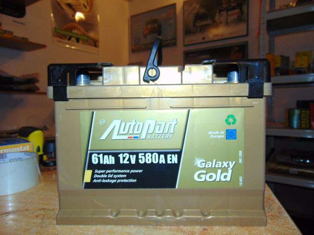 Akumulator Autopart Galaxy Gold 61Ah 580A P+ wymiana Kraków