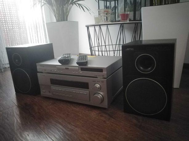PIONEER Jamo Compact 70 kolumny wzmacniacz zestaw audio