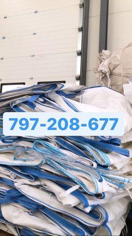 Big bag bagi begi worki na śmieci gruz 90/93/204 fartuch stabilizacja