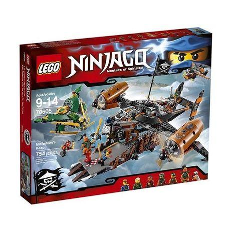Конструктор Lego Ninjago Цитадель несчастий 70605, Лего оригинал