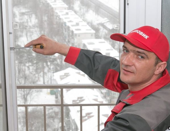 Регулировка фурнитуры пластиковых дверей, ремонт окон, СК Комфорт-Киев