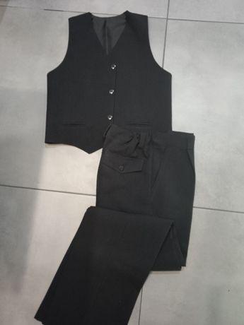 Eleganckie chłopięce spodnie + kamizelka