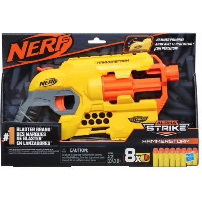 Бластер Nerf Alpha Strike Hammerstorm. Nerf Альфа Страйк. Nerf