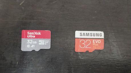 Карта памяті Samsung Evo Plus SanDisk Ultra 32 gb флешка mikro sd