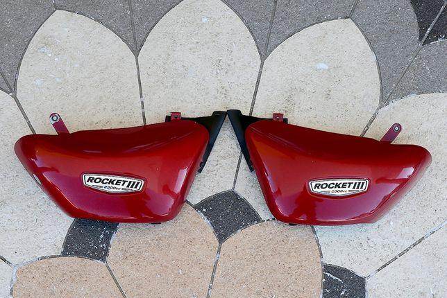Osłony pokrywy boczne kapa Triumph Rocket III Classic