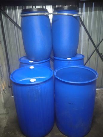 Beczki plastikowe 220l 130l