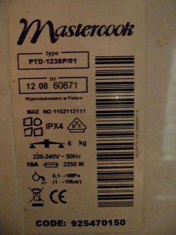 Pralka mastercook PTD-1236P/01 części silnik pompa grzałka bęben
