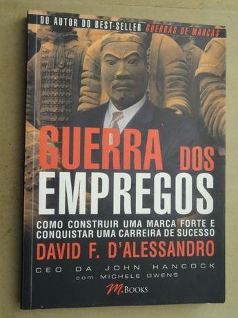 Guerra dos Empregos de David D'Alessandro - 1ª Edição