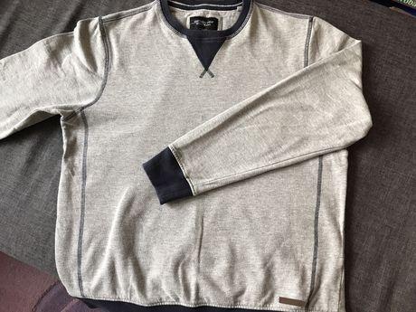 Bluza sweter rozm L szara