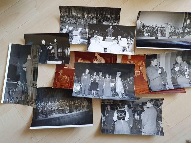 Kobcert, orkiestra, wojsko polskie, PRL zdjęcia zestaw