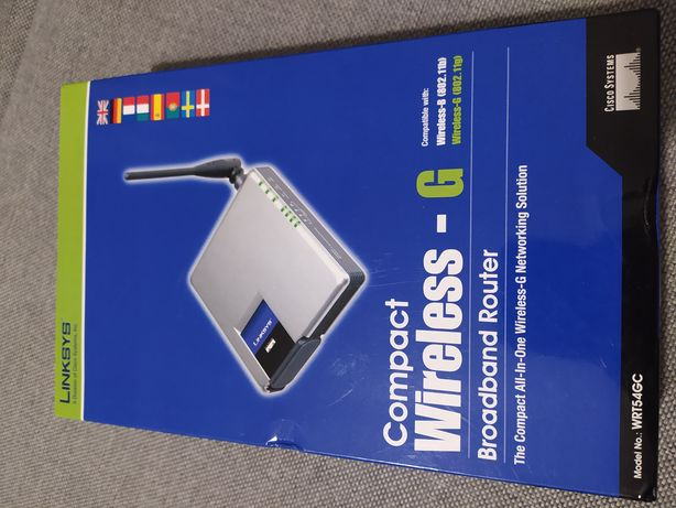 Router Linksys WRT54GC