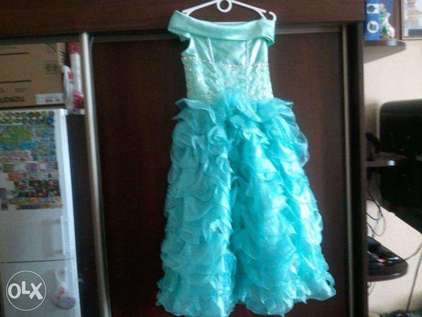 Детское бальное карнавальное платье