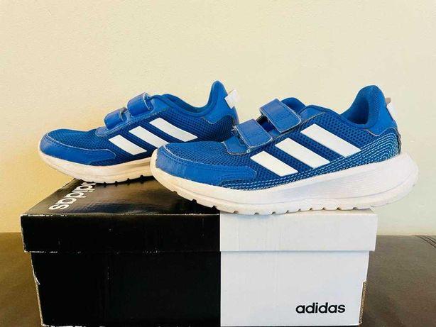 ADIDAS –  letnie, dziecięce obuwie sportowe na rzep, rozmiar 32