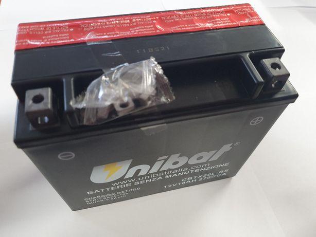 Akumulator Unibat AGM CBTX20L-BS YTX20L-BS ETX20L-BS 18Ah 270A 12V