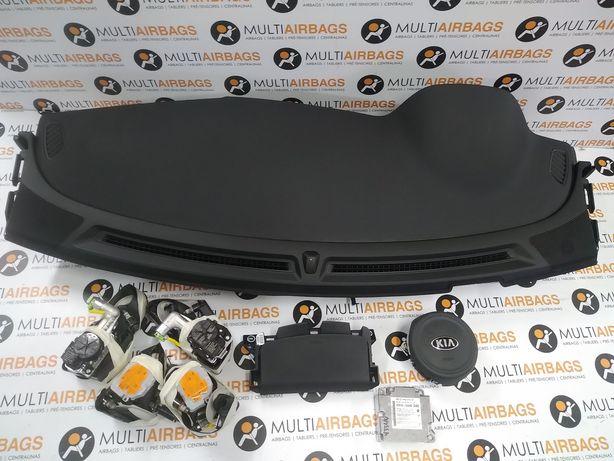 Conjunto de Airbags com tablier Kia Niro