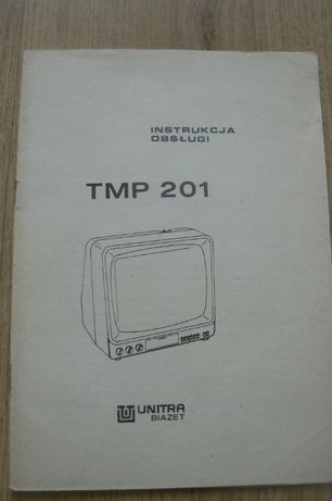 Telewizor TMP 201 - instrukcja obsługi