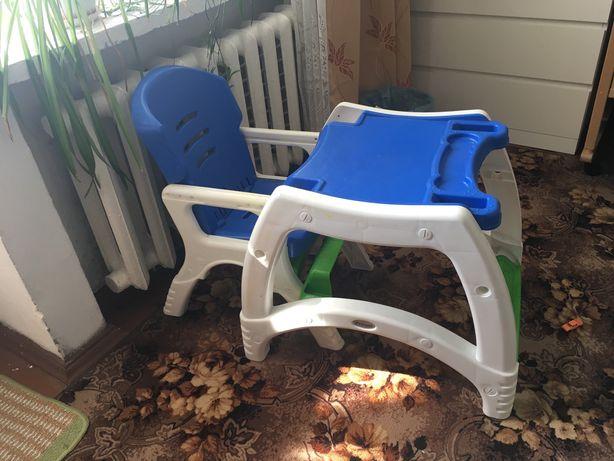 Продам столик и стульчик детский стульчик для кормления