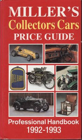 Miller's Collectors Cars, Price Guide, Professional Handbook