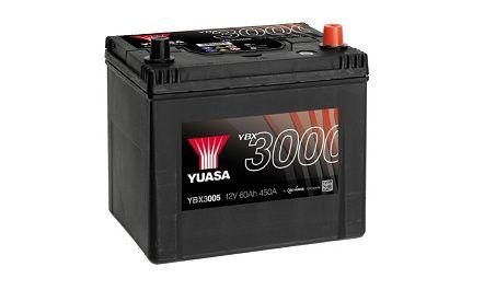 Akumulator YUASA YBX3005 60Ah 450A Promocja!!!