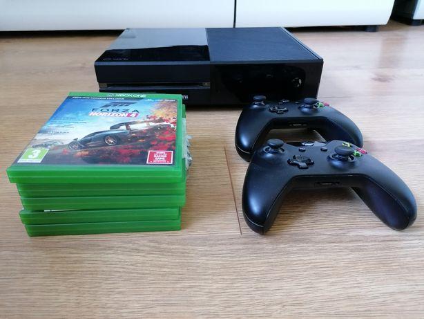 Xbox one 2 pady + gry