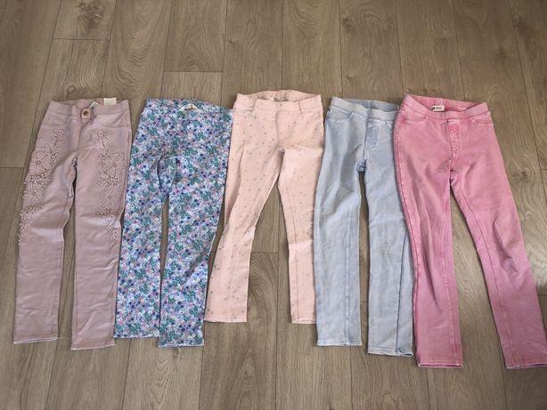 Zestaw spodni, jegginsów H&M