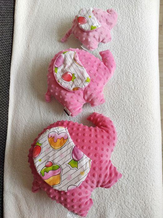 Poduszeczki dekoracyjne, pluszaki słonie. Lipsko - image 1