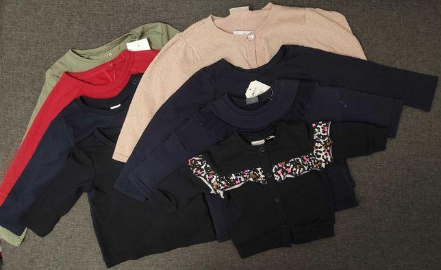 Лонгслив кофта свитер на девочку от 1 месяца до 6 лет H&M Next Name It