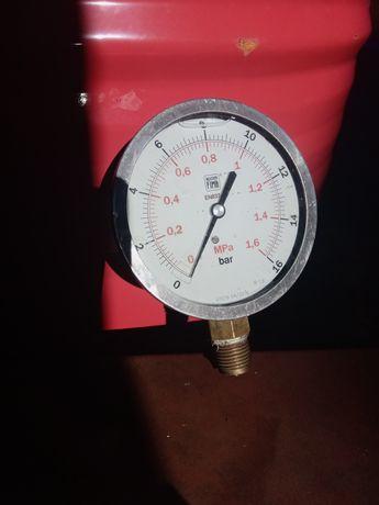 Manometr glicerynowy 16 bar 10 cm średnicy