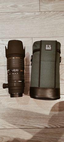 Obiektyw 70-200mm 2.8 Sigma Apo Hsm EX Canon stad bdb