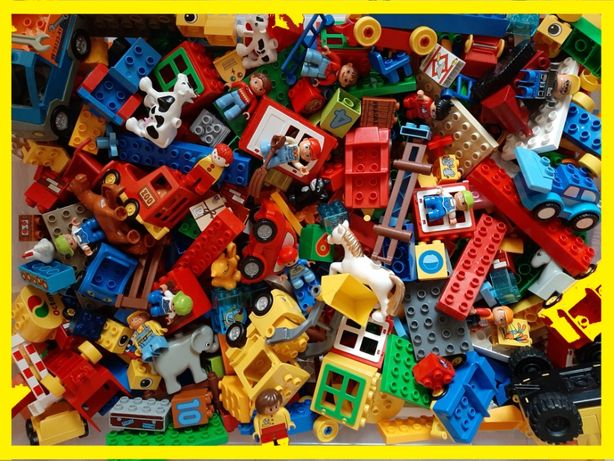 LEGO Duplo mix 1kg HIT!