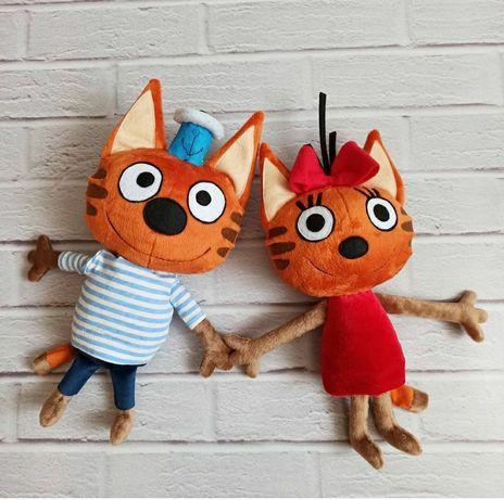 Три кота, игрушки для детей, игрушки ручной роботи