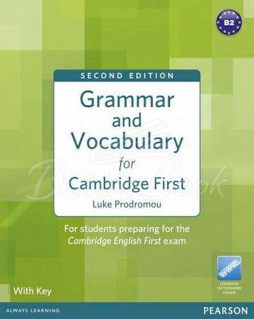 Grammar and Vocabulary for Cambridge First чорно-білі