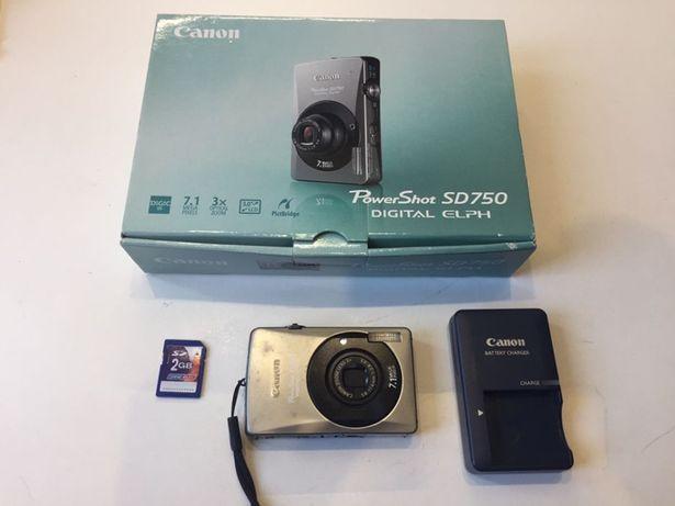 Фотоаппарат Canon Power Shot SD750