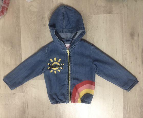 Курточка-ветровка джинсовая