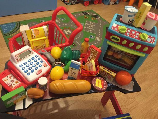 Mini supermercado de criança