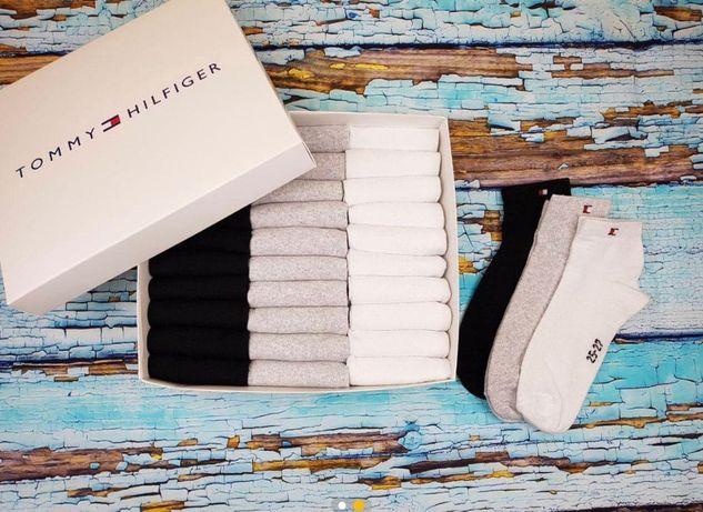 Носки мужские Tommy Hilfiger 30пар Чоловічі шкарпетки Томи Халфигер