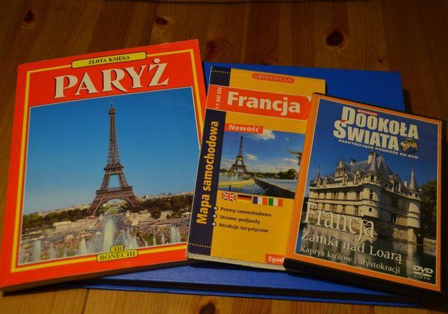 Mapy i przewodniki- Paryż ,Francja