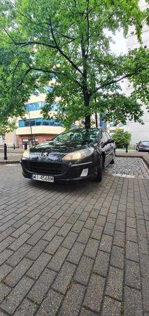 Peugeot 407SW 2,0 HDI 136KM,Kombi, Solar
