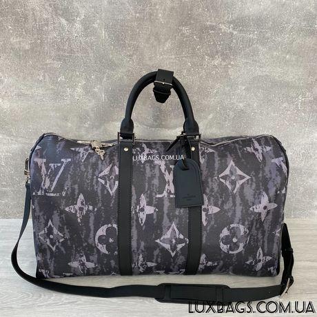 Стильная спортивная дорожная сумка Louis Vuitton Луи Виттон Мужская