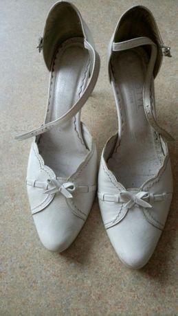Buty skórzane Kotyl r.39