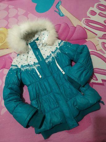 Куртка Danilo 152 см+ ПОДАРОК пальто, пуховик, плащ, зимняя, еврозима