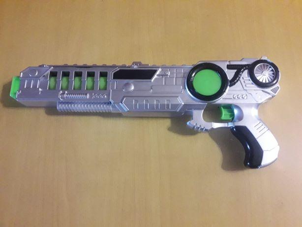 Детское оружие автомат-бластер робот звуковые и светоэффекты