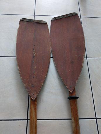wiosła kajakowe (drewniane)