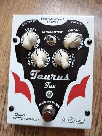 Taurus tux. Kompresor optyczny do basu i gitary