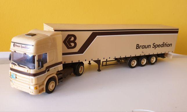 Scania R420 - Braun Spedition - AWM - 1:87 H0