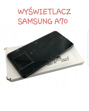 Wyświetlacz Samsung A30s A40 A50 A51 A70 A71 + montaż GRATIS
